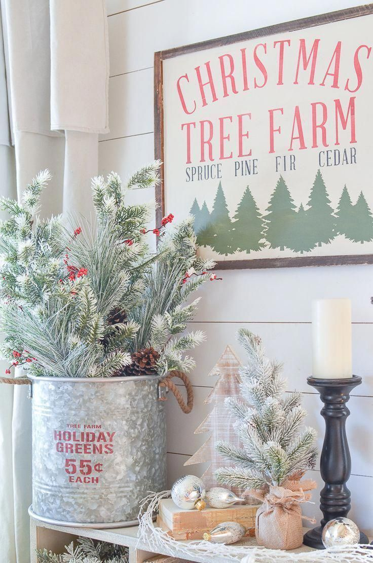 31 Farmhouse Christmas Wallpaper On Wallpapersafari
