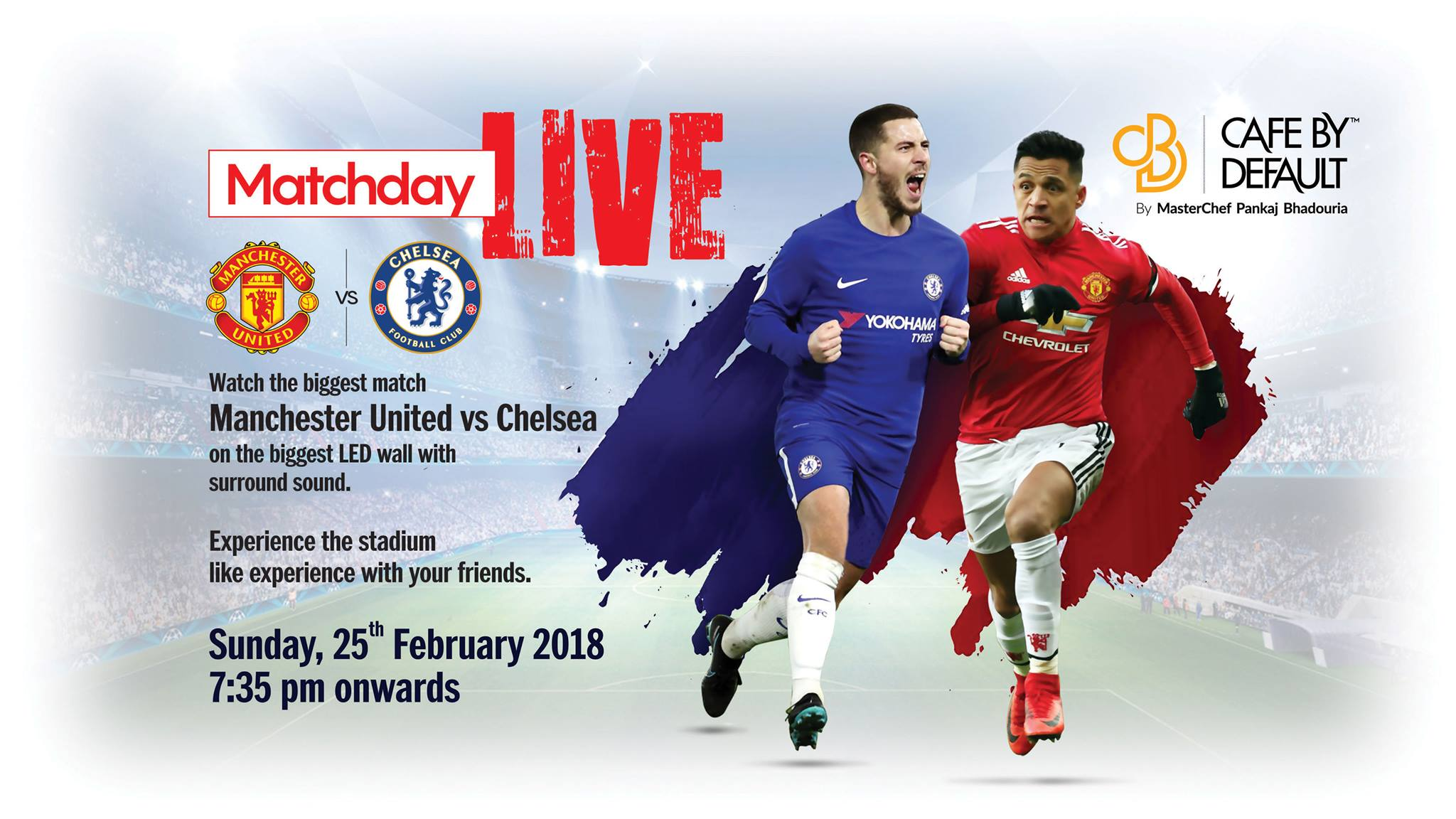 Matchday LIVE Manchester United Vs Chelsea Cafe By Default 2048x1152
