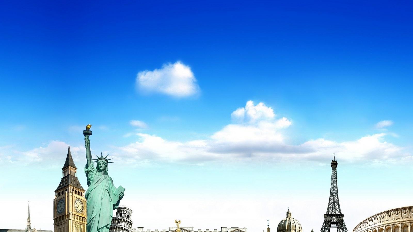 Statue Of Liberty Wonder Wallpaper   Travel HD Wallpapers 1600x900