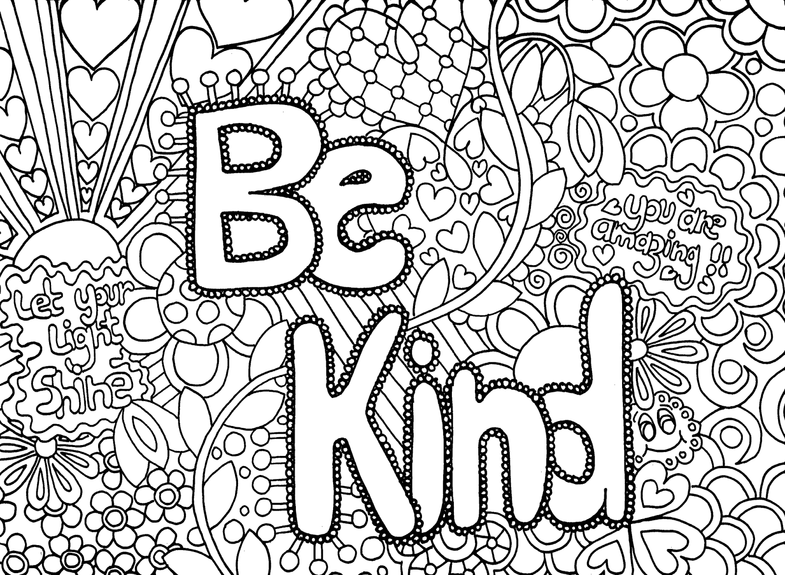 free printable coloring pages for kids coloring printables - HD 1600×1173