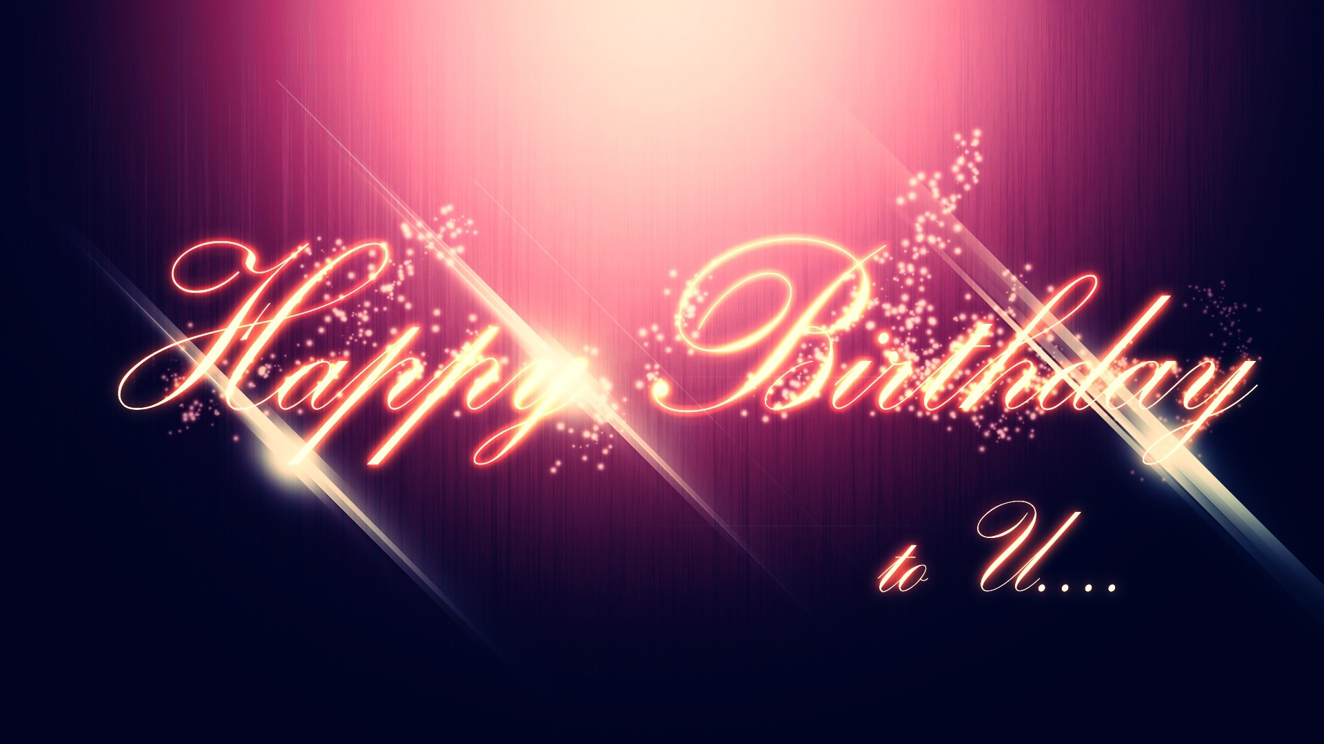 Happy Birthday 2013 Greeting Cards HD Wallpaper of 1920x1080