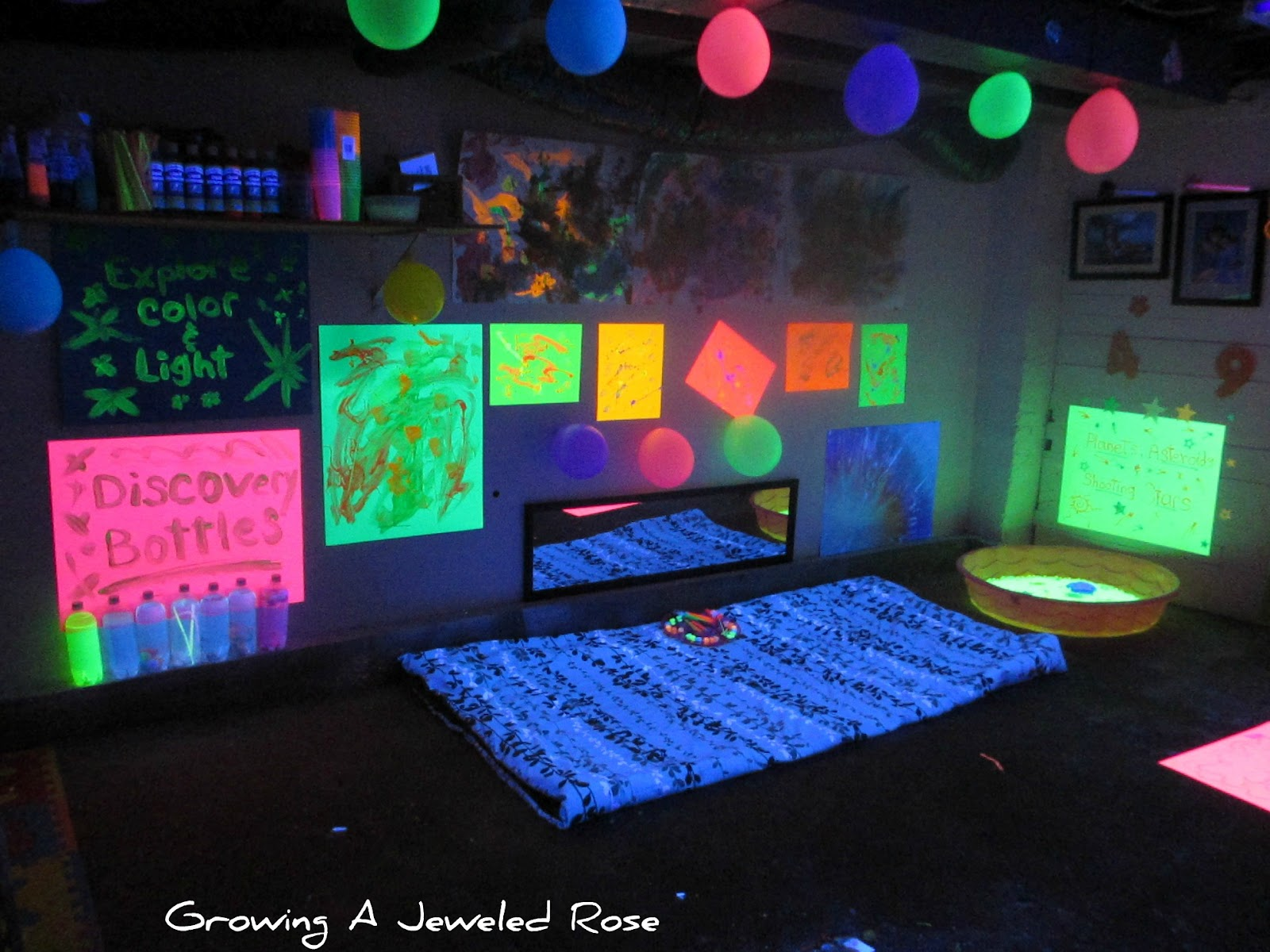 Free download Black Light Themed Party for Kids Growing A ...