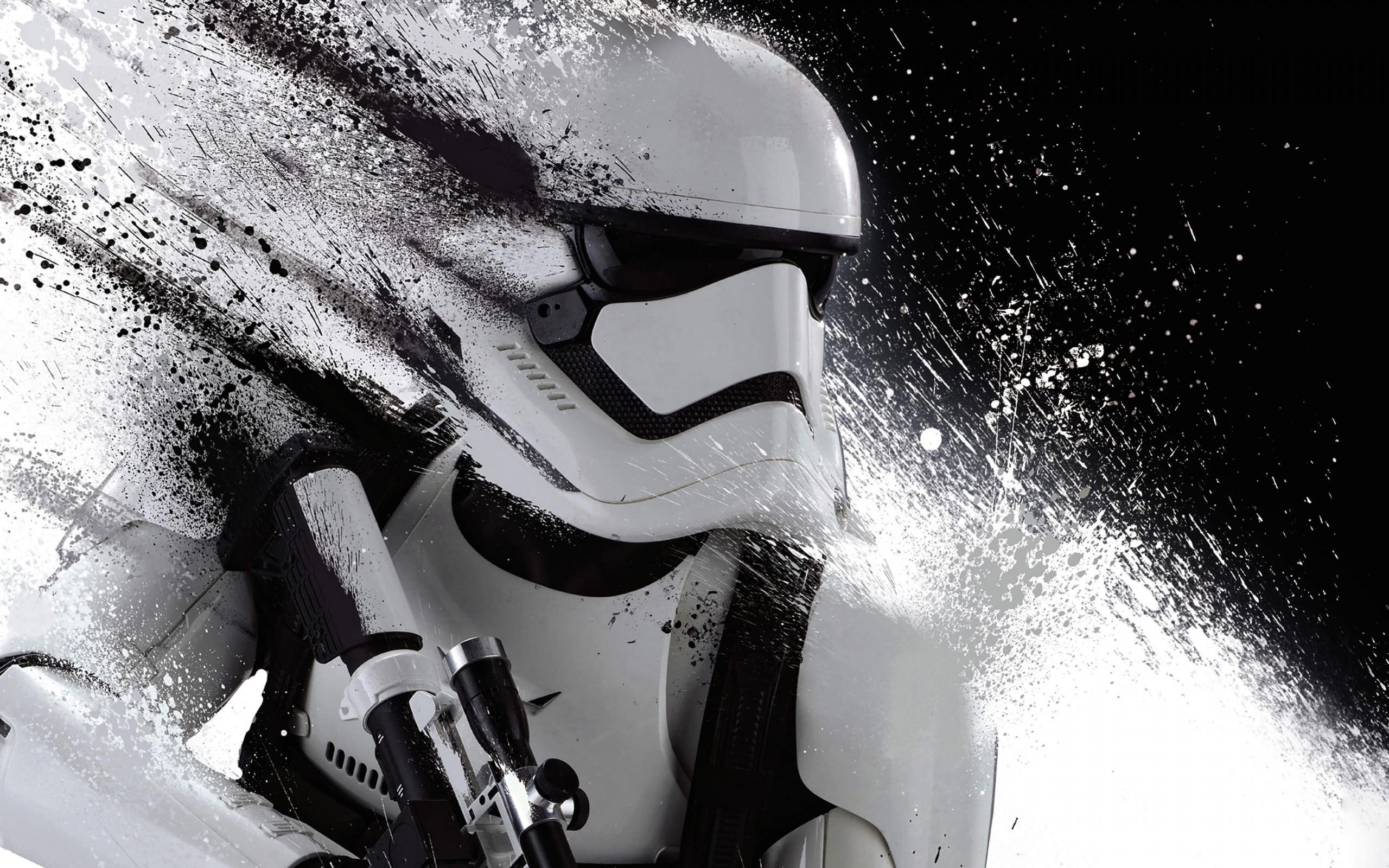Stormtrooper Splatter HD wallpaper for 2560 x 1600   HDwallpapersnet 2560x1600