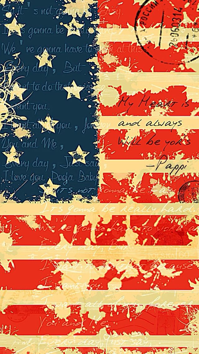 USA Flag   wordings iPhone wallpaper mobile9 iPhone wallpapers 640x1136