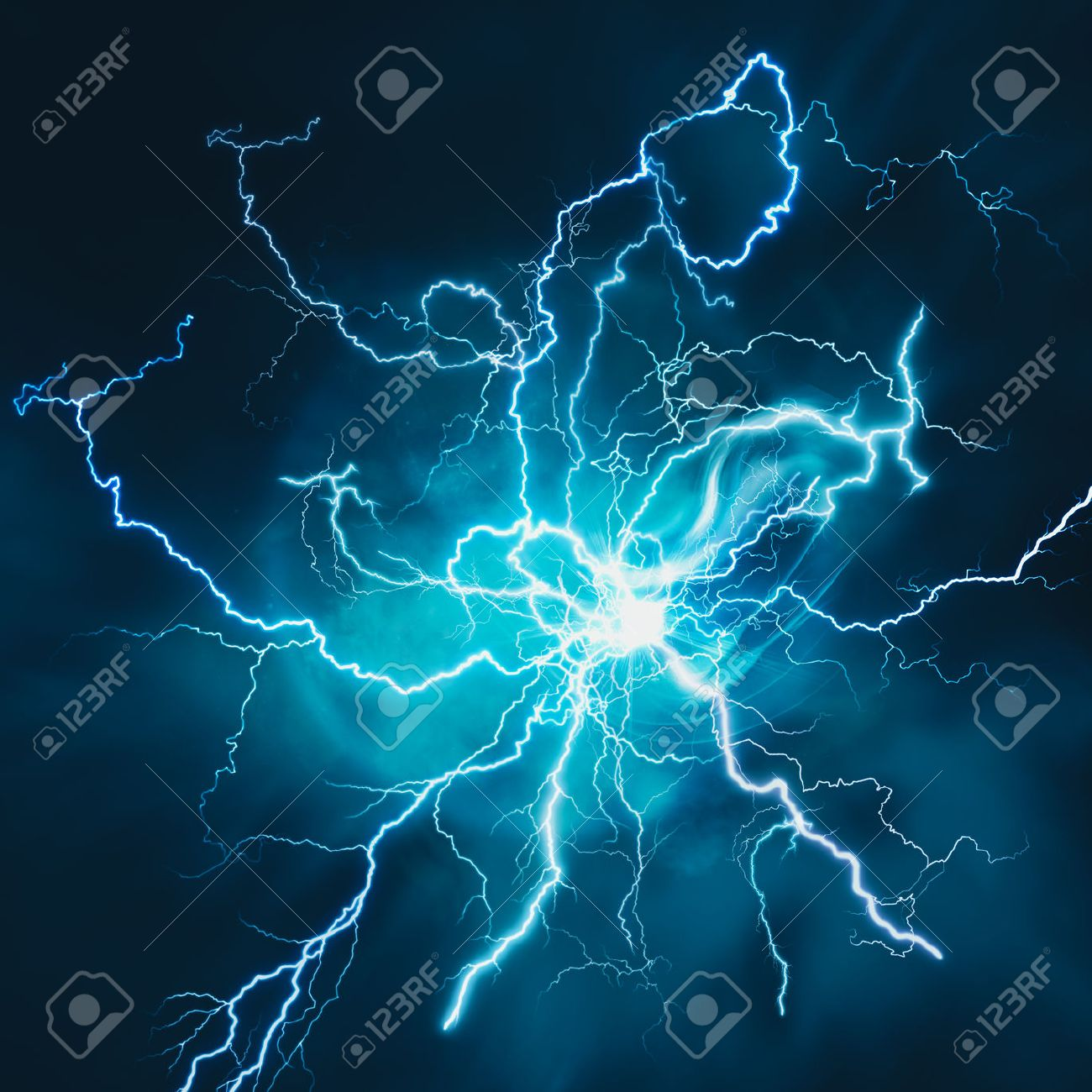 Electric Storm Abstract Science And Power Industry Backgrounds 1300x1300