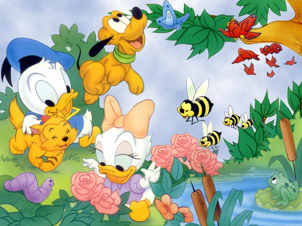 cartoon characters Disney Cartoon Characters 1024x768