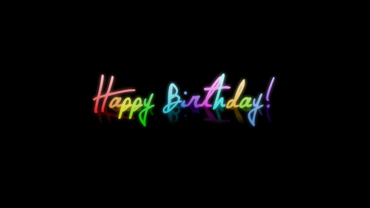 Colorful Happy Birthday Hd Wallpaper for your desktop background You 1280x720