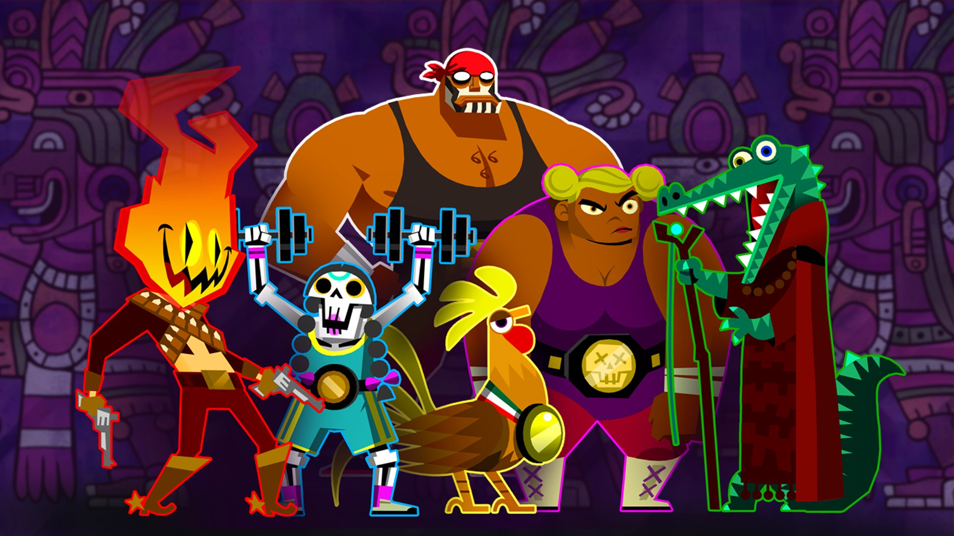 Buy Guacamelee 2   The Proving Grounds Challenge Level 1920x1080