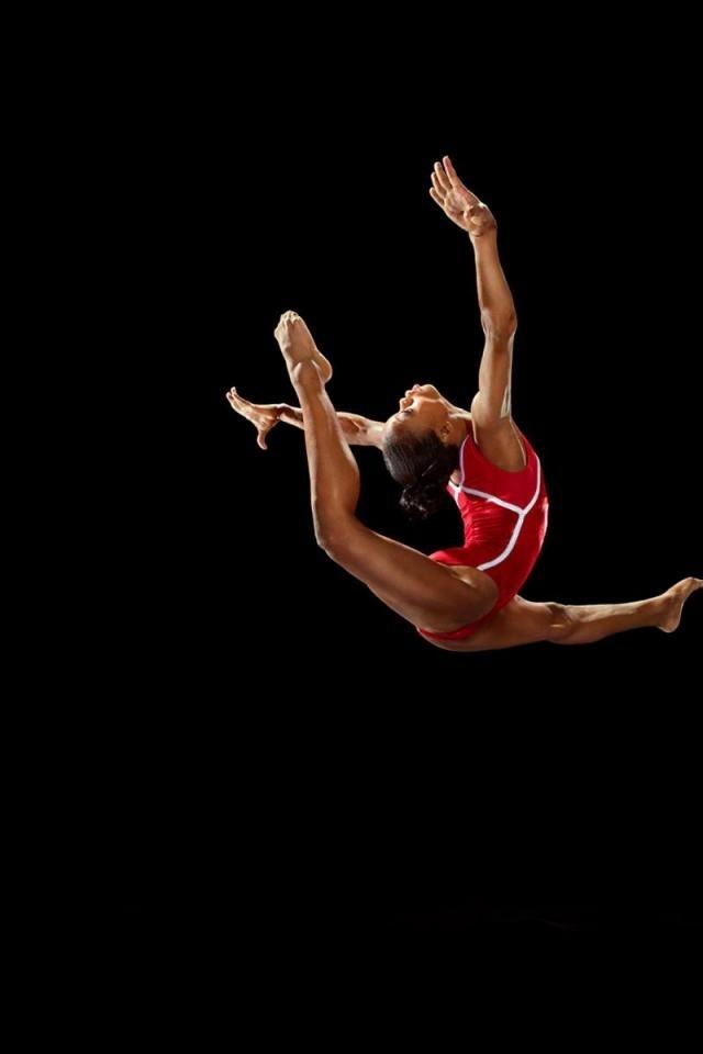 Gabby Douglas 2012 London Olympics iPhone 4 Wallpaper and 640x960