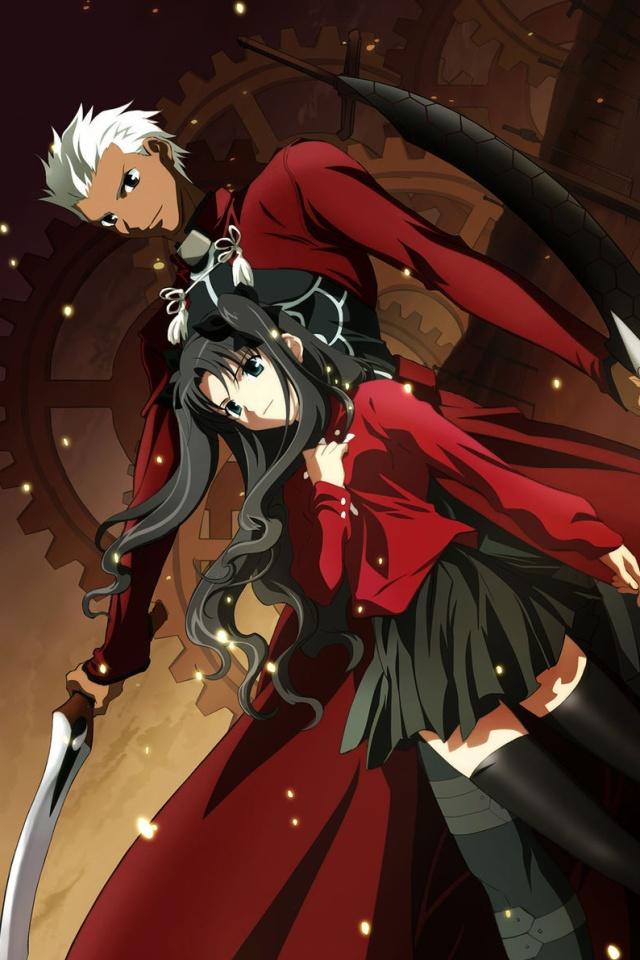 Fate stay NightRin TosakaArcher640960 1 [ Fatestay Night ] 640x960