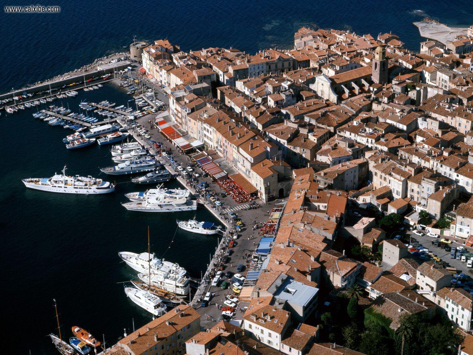 Buildings City St Tropez France desktop wallpaper nr 4314 1600x1200