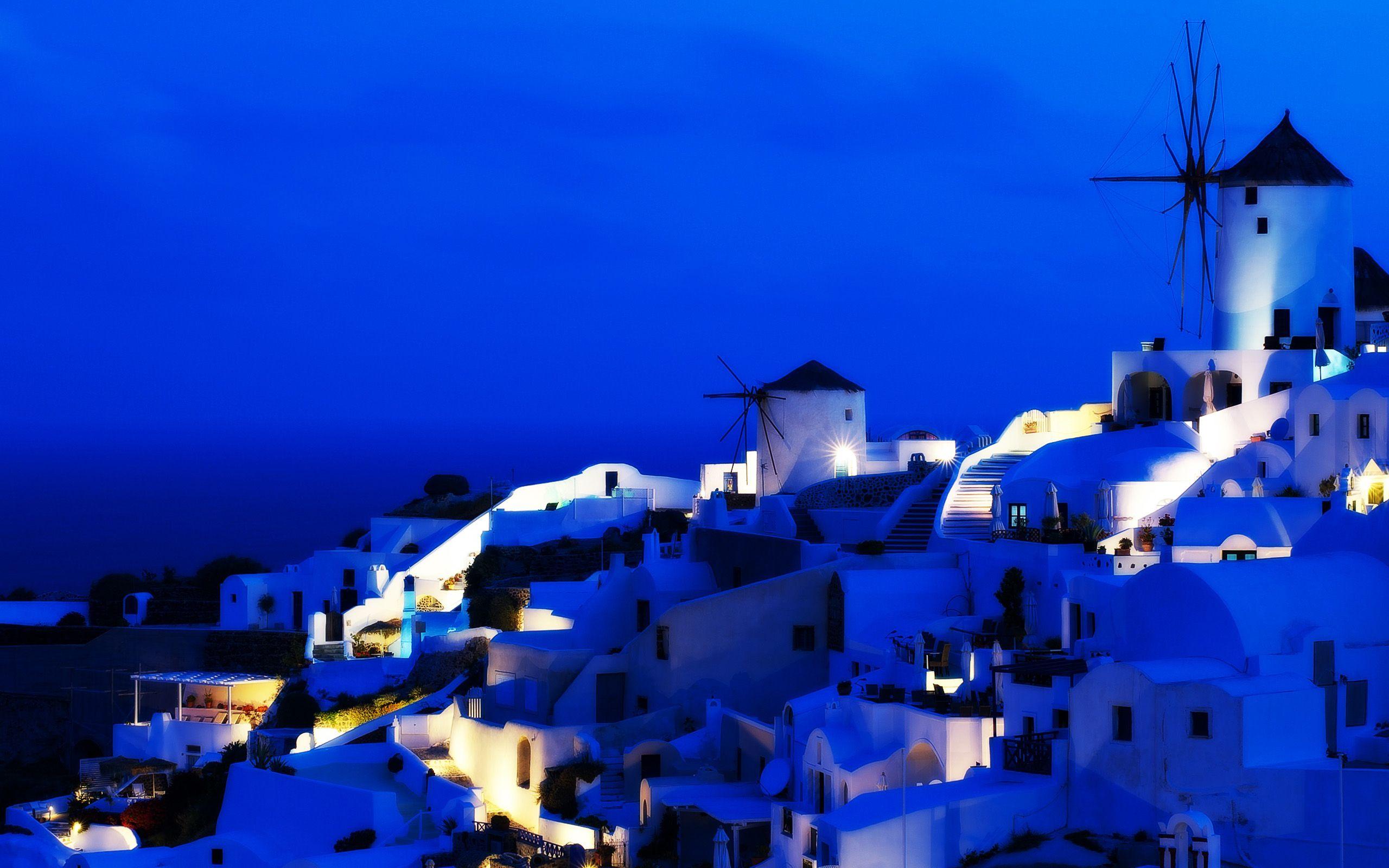 Pin by masturo wandes on HD Wallpapers Santorini Greece 2560x1600