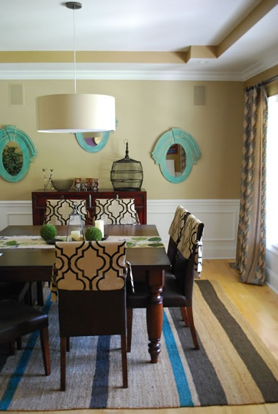 dining room   wainscoting   would be great with wallpaper instead of 403x600
