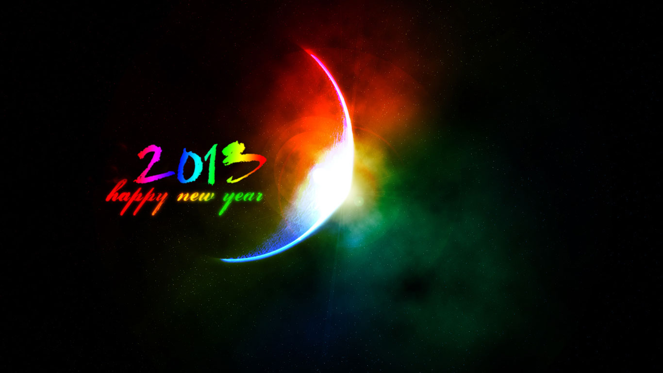 Happy New Year 2013 Wallpapers Best Wallpapers HD 1366x768