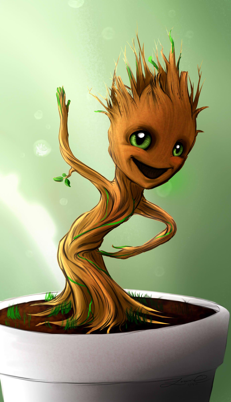Baby Groot By Lovelyloren 1380x2401