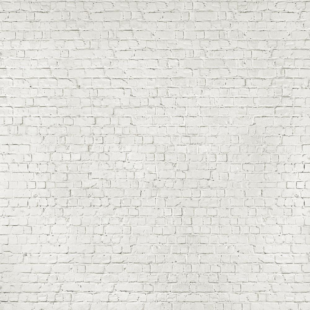 loft white brick effect giant wallpaper