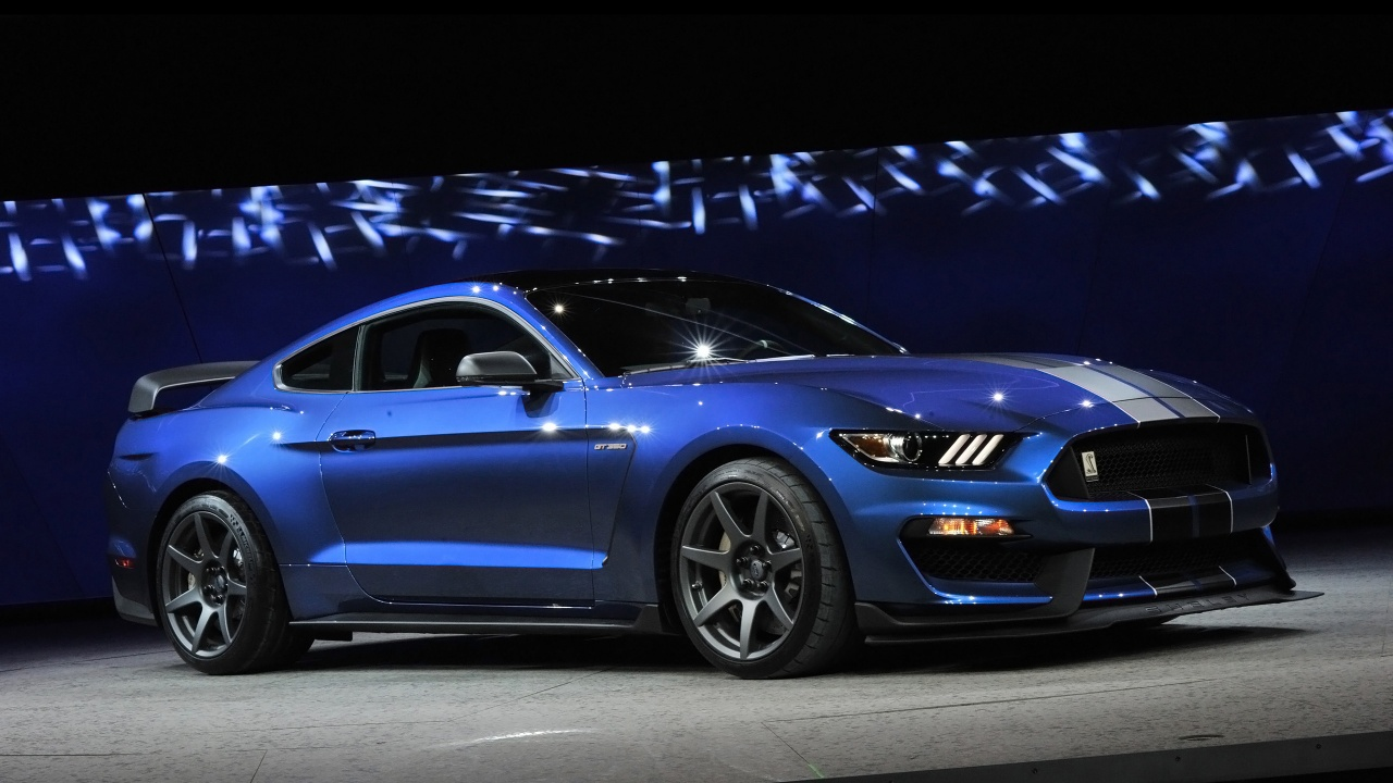 2016 Ford Shelby GT350R Mustang 2 Wallpaper HD Car Wallpapers 1280x720