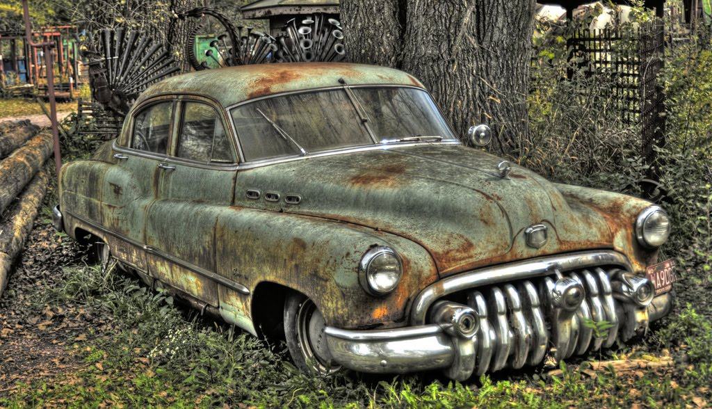 Cars Decay Old Style Abandoned Car Hd Wallpaper Amp Trucks Picture