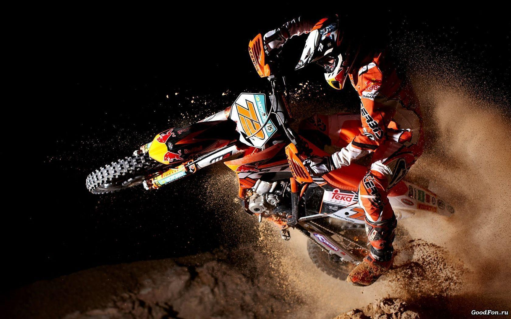 Wallpapers Motocross KTM 1680x1050