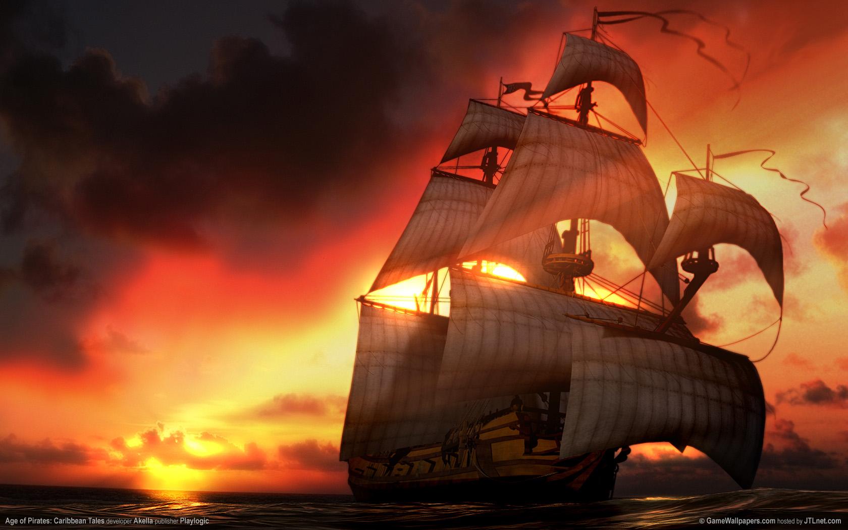 1680x1050 Age of Pirates desktop PC and Mac wallpaper