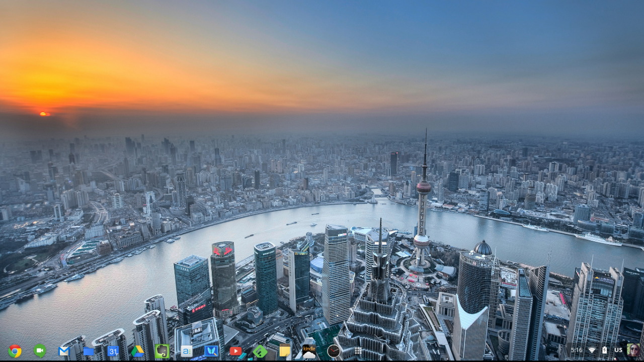 My wallpaper today   Shanghai China   My Chromebook Life 1280x720