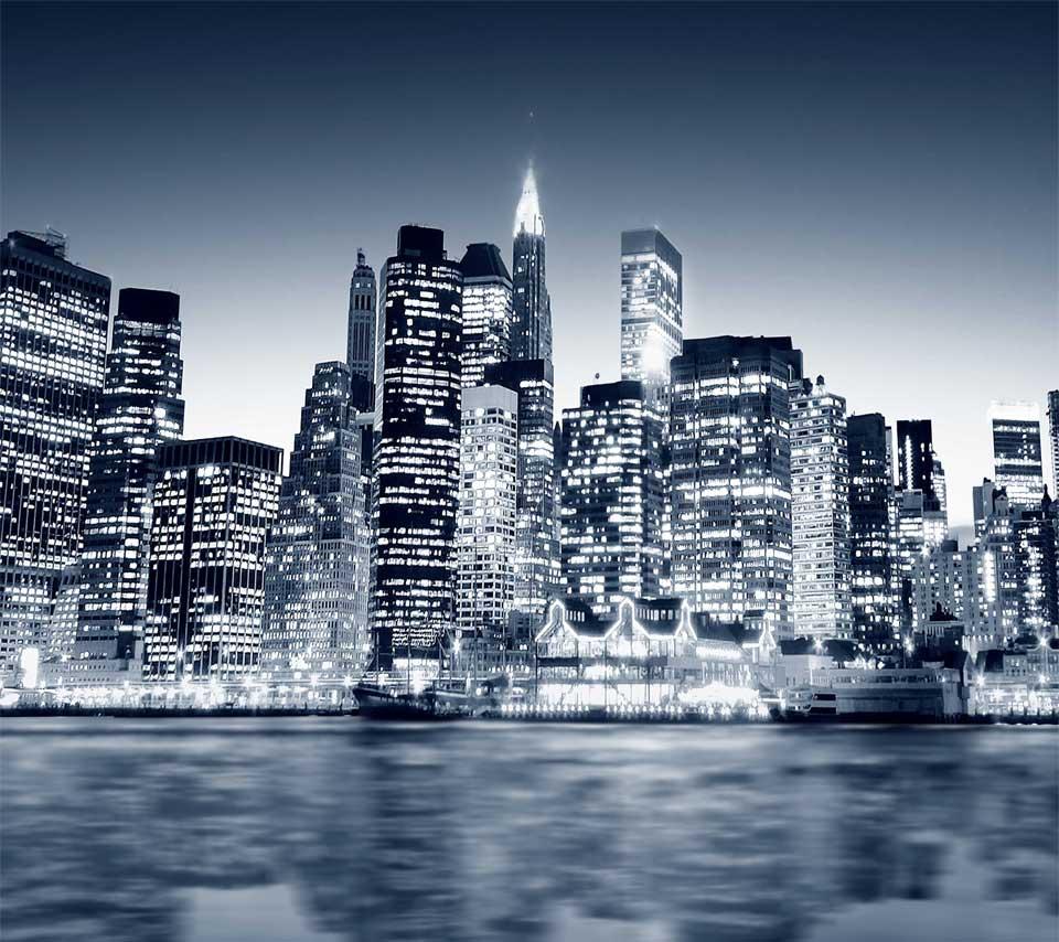Manhattancityblackwhitemonochromemodernnew yorkusawallpapers 960x854