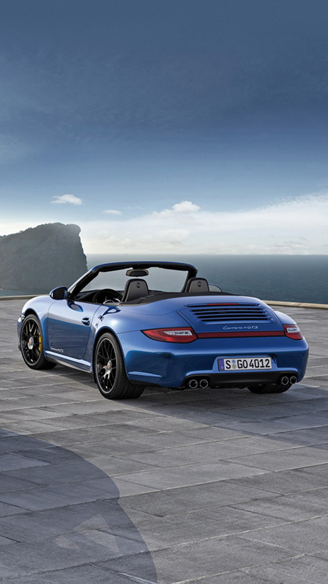 Free Download Sports Car At The Beach Iphone 6 Plus Wallpaper