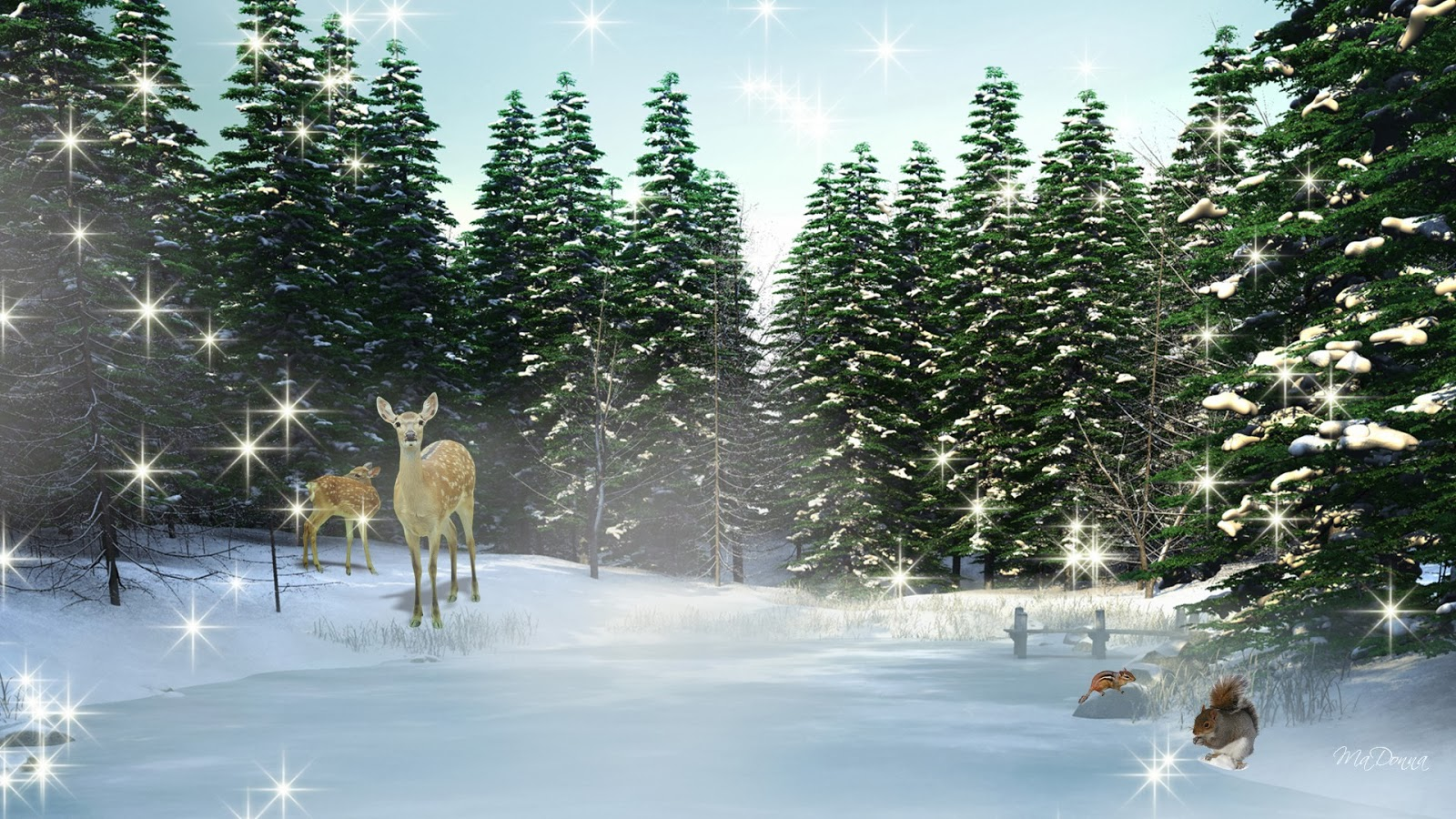 Christmas Tree Wallpaper Animated