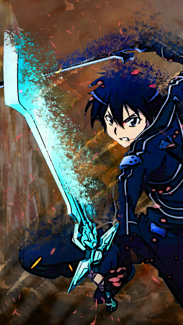 50 Sword Art Online Phone Wallpaper On Wallpapersafari
