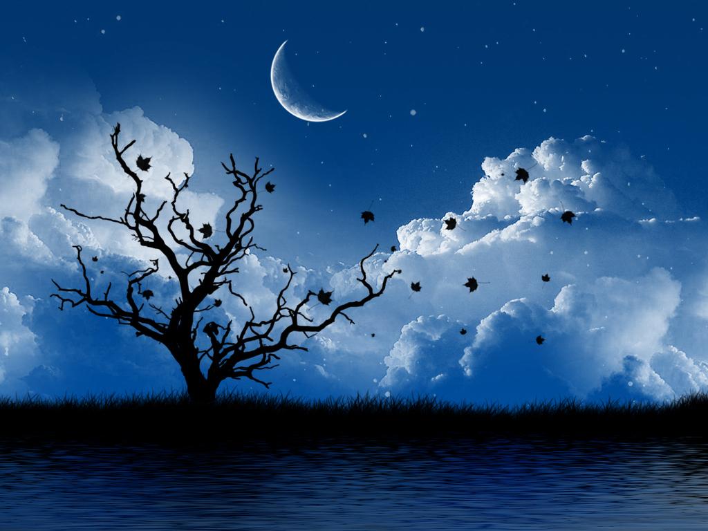 Moon Beautiful free Wallpaper Desktop hd   HD Wallpaper 1024x768