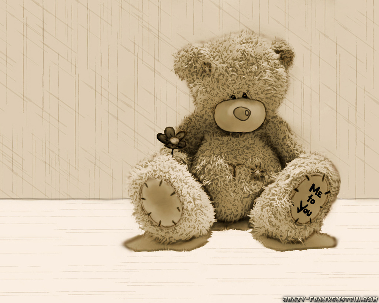 Free Teddy Bear Wallpaper