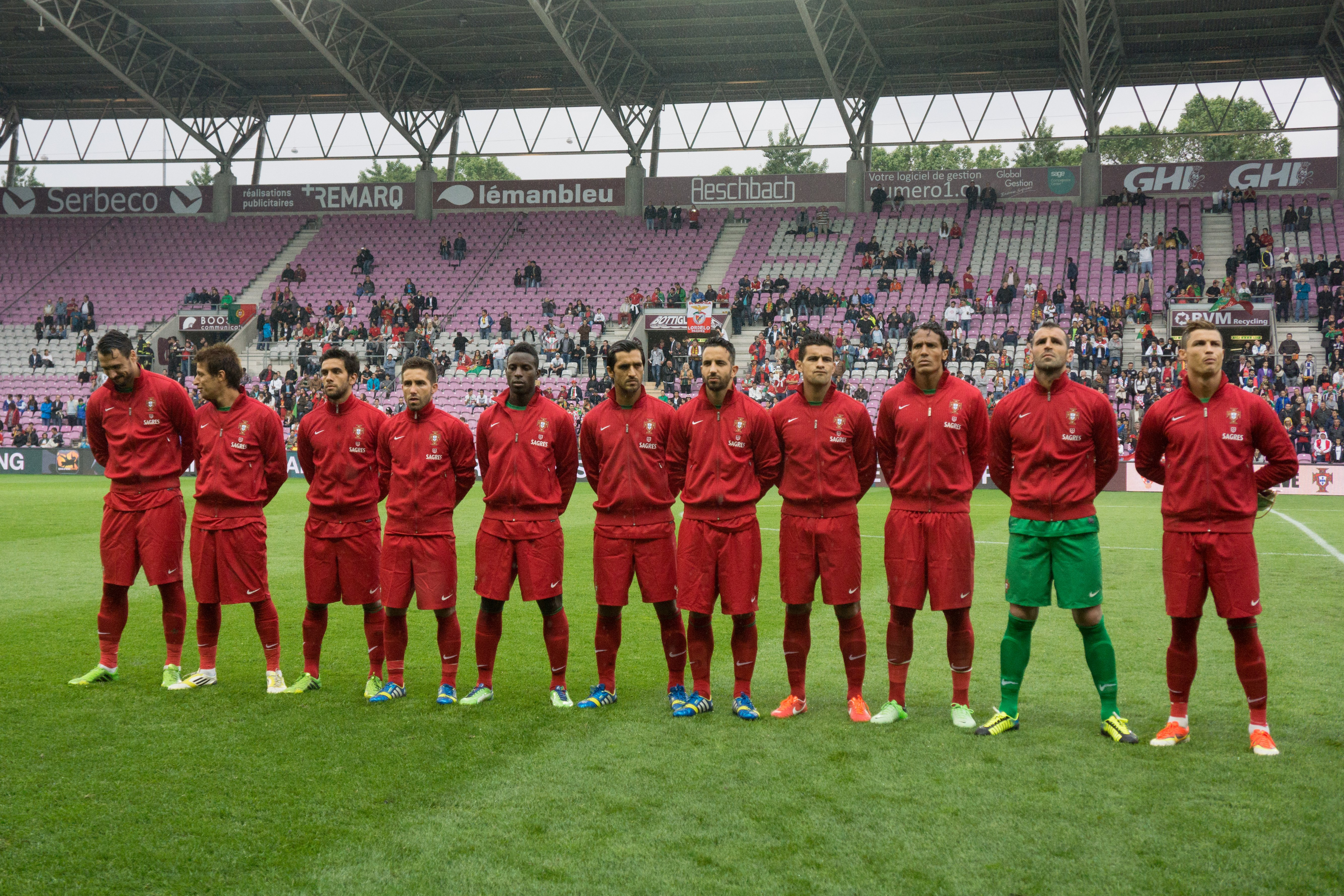 Portugal National Football Team HD Wallpaper Football 5335x3557