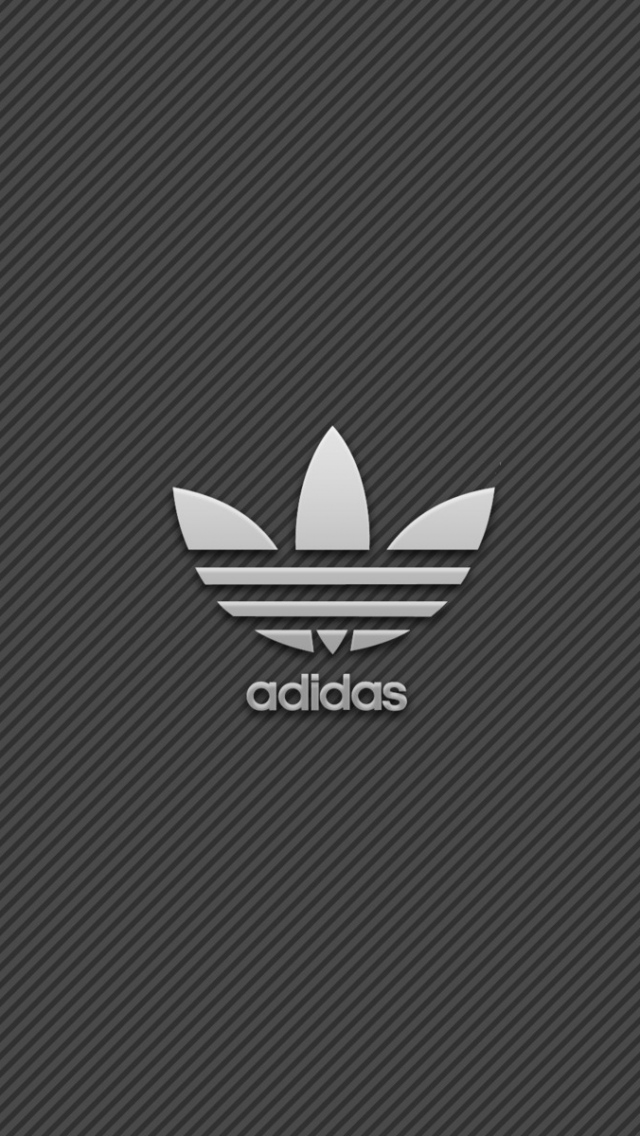 Download Wallpaper 640x1136 Adidas Brand Logo iPhone 5S 640x1136