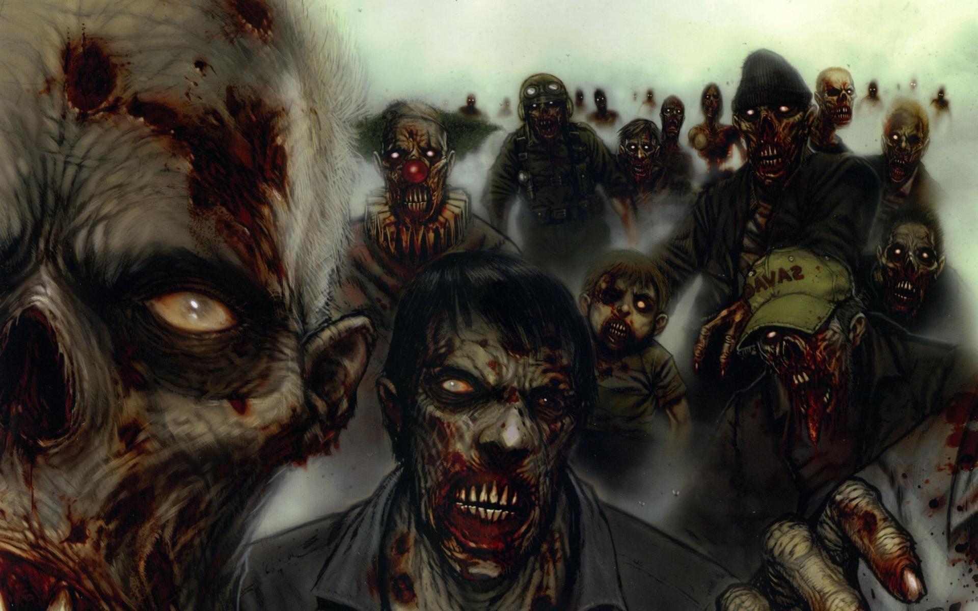 [73+] Zombie Wallpaper Widescreen on WallpaperSafari