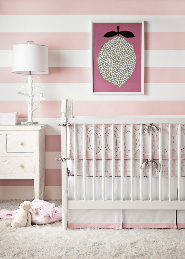 serena and lily new line of wallpaperpink stripe 641x893