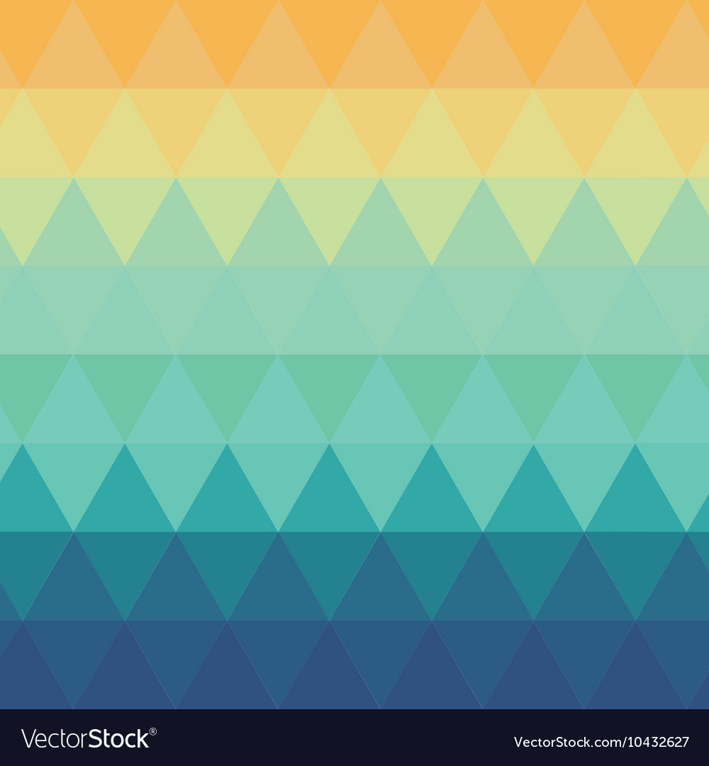 Triangle ombre pattern background Royalty Vector Image 1000x1080