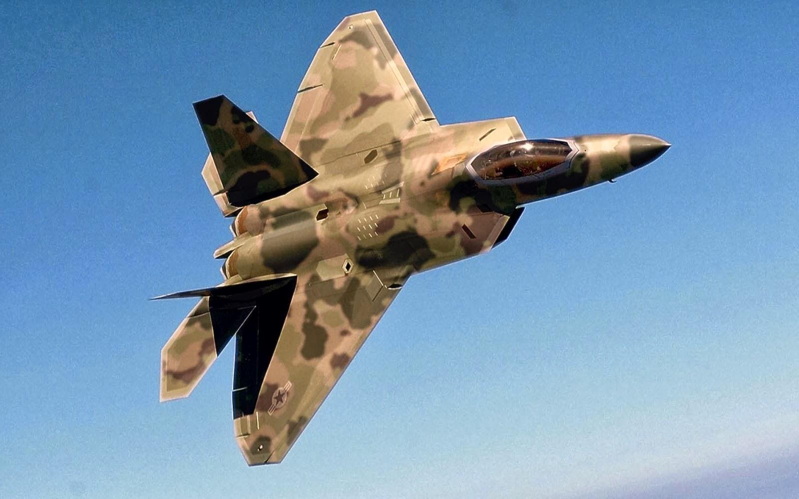 wallpapers Lockheed Martin F 22 Raptor Wallpapers 1600x1000