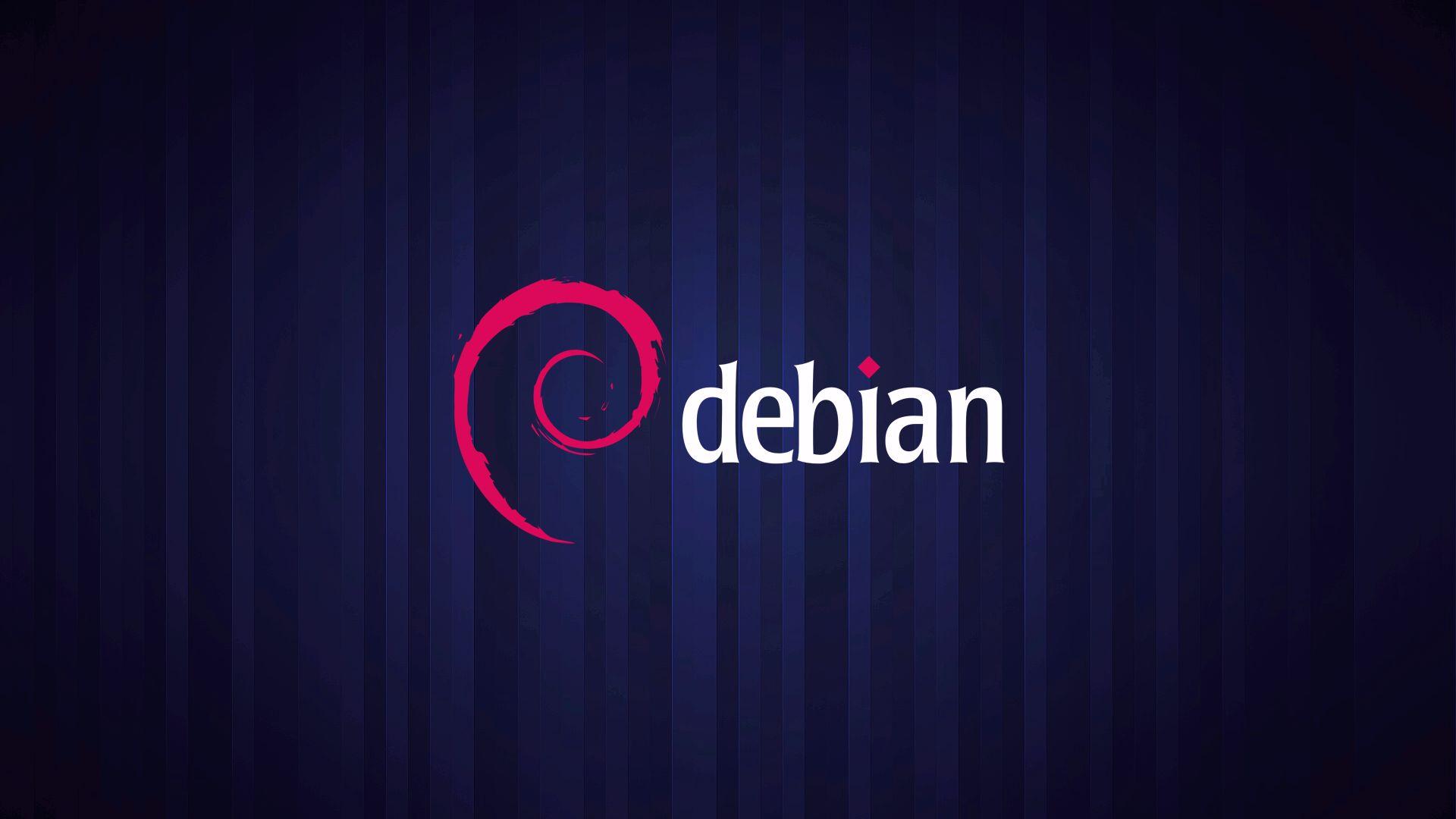 Debian Logo with Pattern Background Wallpaper   Wallpaper Stream 1920x1080