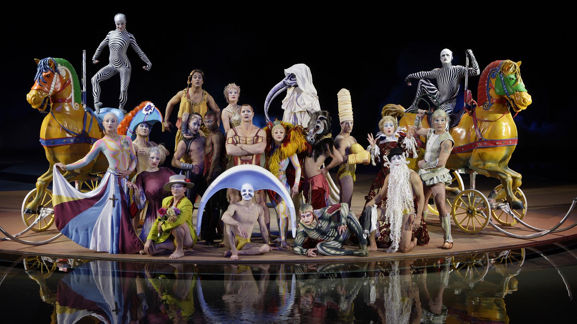 Cirque du Soleil backdrop wallpaper 1920x1080