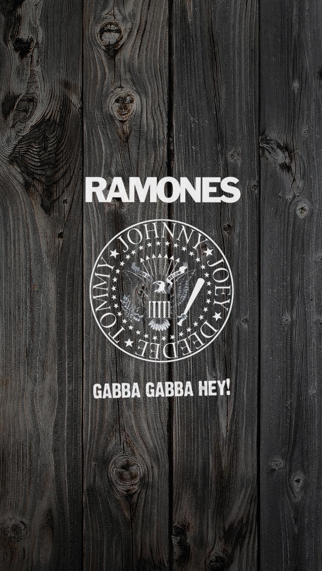 Ramones iPhone 5 Wallpaper 640x1136 640x1136