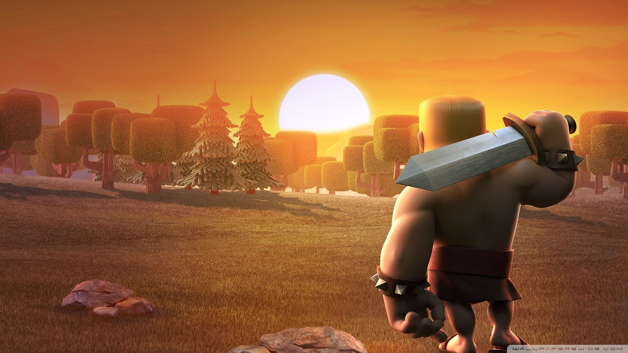60 Wallpaper HD Android Clash of Clans COC Terbaru 2048x1152