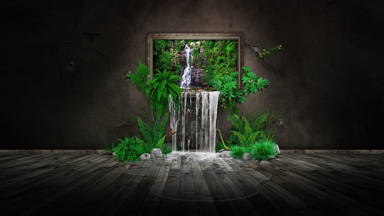 Nature in House for 1280 x 720 HDTV 720p resolution