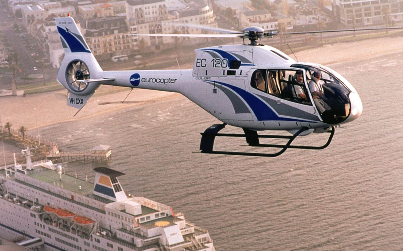 wallpapers Eurocopter EC 120 1600x1000