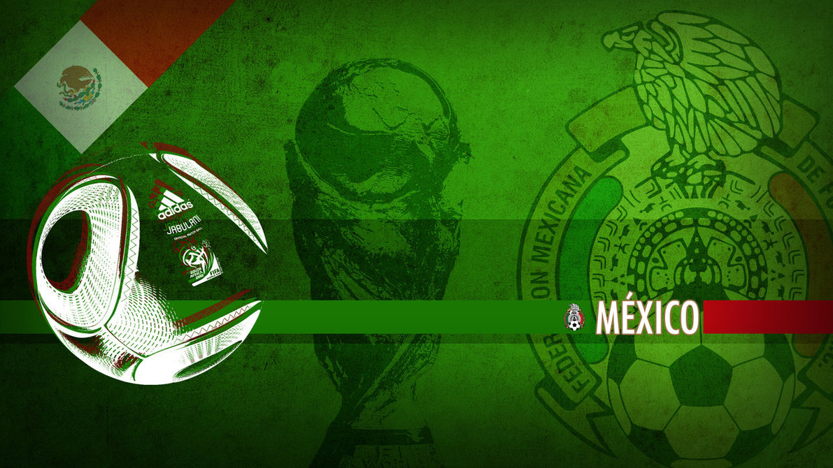 Mexico WC2010 Wallpaper by Yabbus23 1191x670