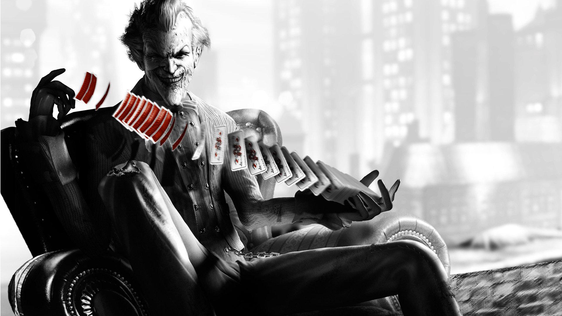 Hd wallpaper of joker - Batman Arkham City Joker Wallpaper 1920 1080 23054 Hd Wallpaper Res