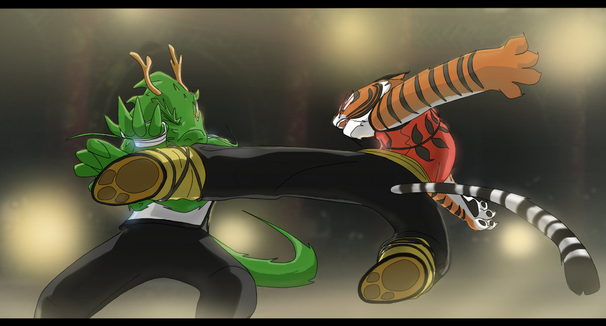 Dragon vs Tiger by Purpleground02 1219x655
