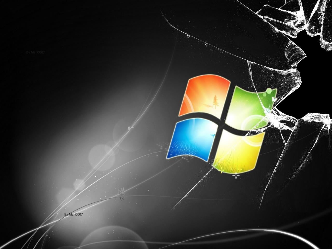 microsoft broken screen microsoft windows 1920x1080 wallpaper Art HD 1280x960