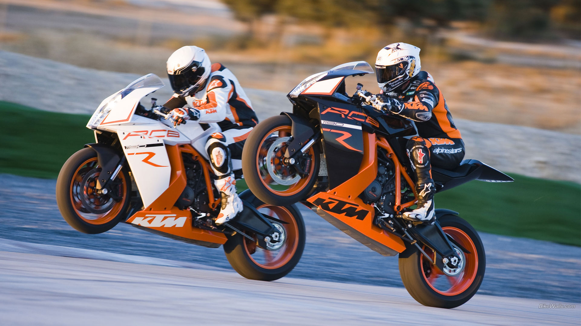 KTM RC8 R 1920 x 1080 wallpaper 1920x1080