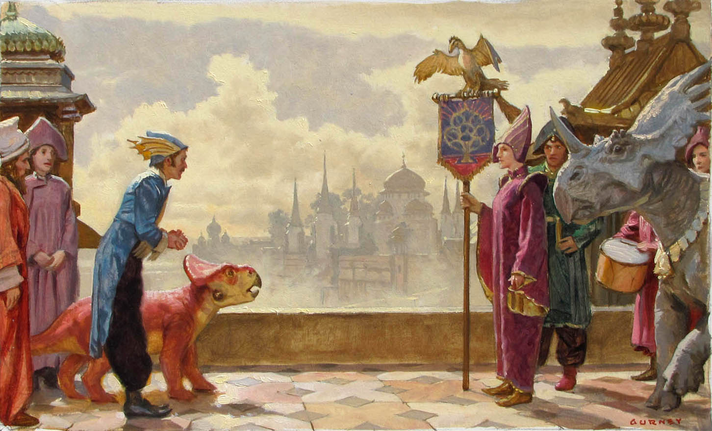 Gurney Journey Dinotopia Originals to be in Tajan Auction 1452x879