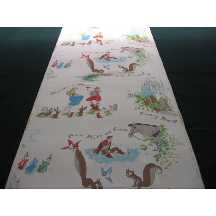 Vintage Sleeping Beauty Wallpaper x Fabulous x Pinterest 690x690
